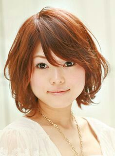 Asian short hairstyle oval face