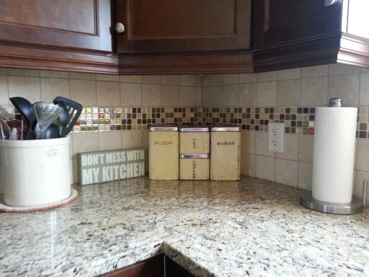 new peel and stick backsplash home inspiration pinterest