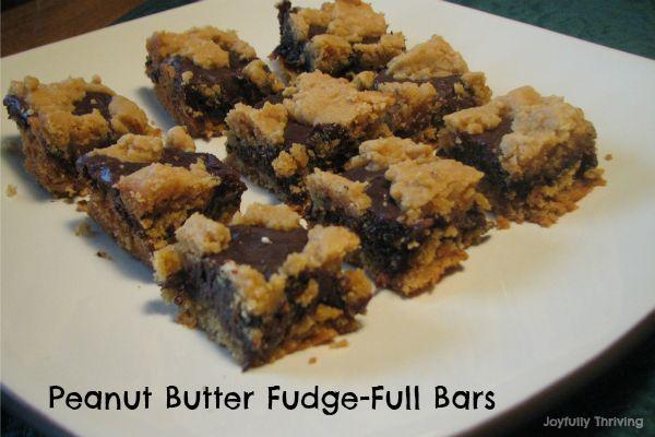 Peanut Butter Fudge-Full Bars | sweets. | Pinterest