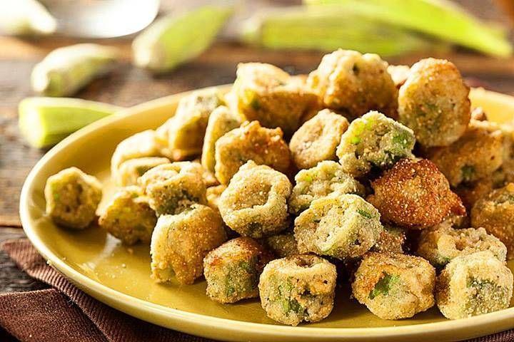 Southern Fried Okra | Yummies | Pinterest