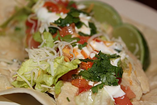 Lime Chicken Soft Tacos | Recipe Box | Pinterest