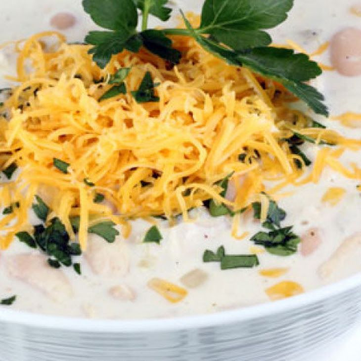 White Chicken Cream Cheese Chili | Soup Nazi | Pinterest
