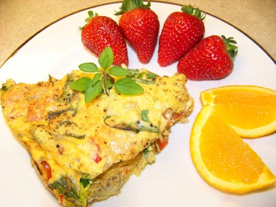 Spinach, Artichoke & Asiago Frittata | Nutrition: Healthy Recipes | P ...