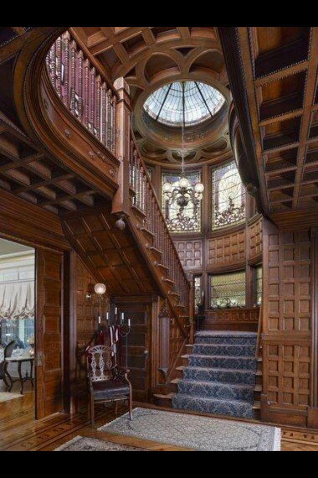 Beautiful Victorian Style Staircase Victorians