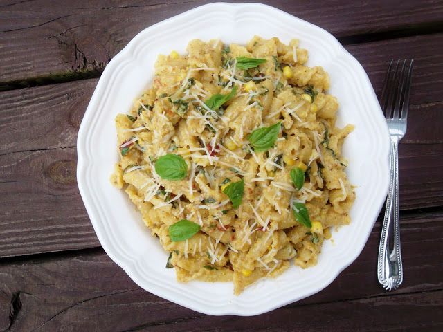 Pasta with Bacon and Fresh Corn Pesto | Food and Recipes | Pinterest