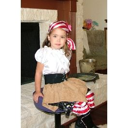 Pirate Princess Carey Halloween Costume