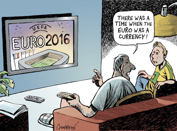 The Euro...