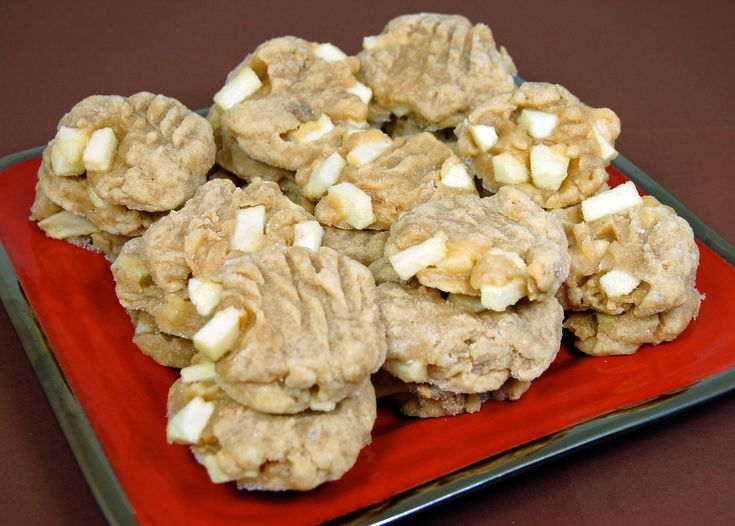 Apple Dippin' Peanut Butter Cookies | If You Give a Mouse a Cookie ...