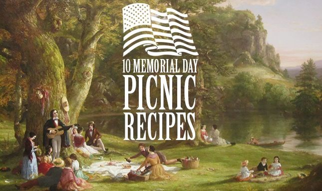 memorial day picnic pictures