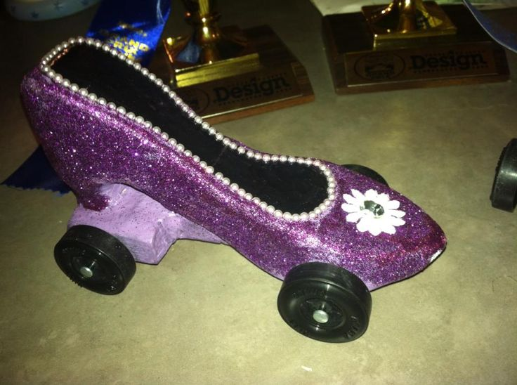 Pinewood derby car designs for girl cars