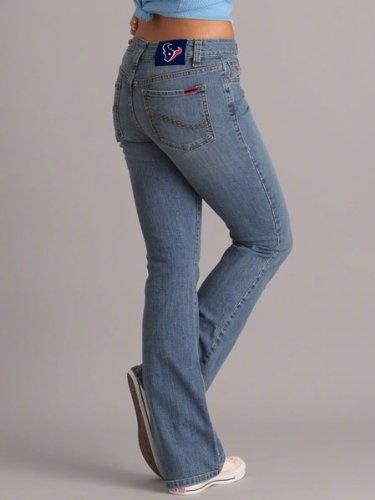 Houston Texans Women's Cheerleader Boot Jeans - Medium Wash $49.99 - $59.99