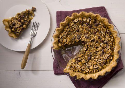 Maple-Hazelnut Pie : Not as rich as pecans, hazelnuts make for a ...