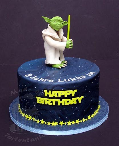Star Wars Cake Design Pinterest : Star Wars Birthday Cake for my grands Pinterest