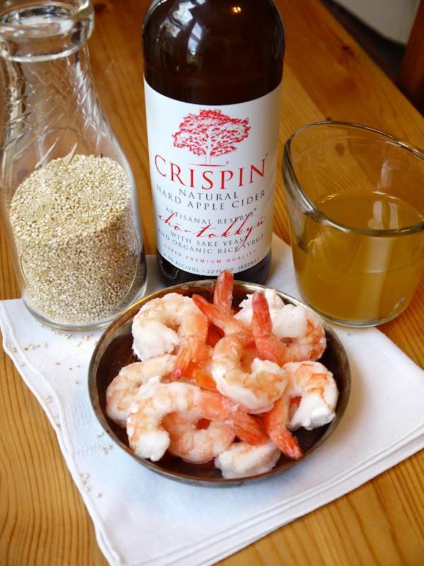 The Cider Kitchen: Stir Fried Pineapple & Shrimp Quinoa