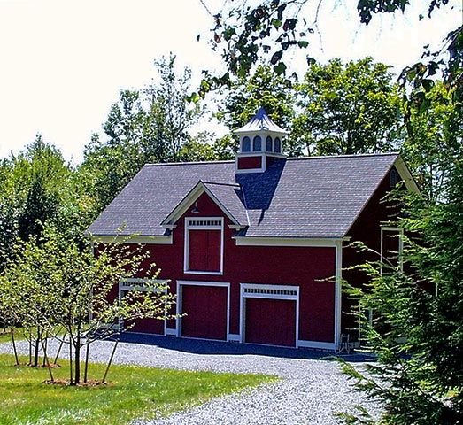 Classic new england style barn barns pinterest for New england barns for sale