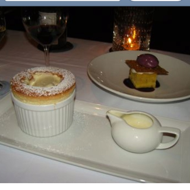 Grand marnier souffle :) yummmm !! | Food | Pinterest