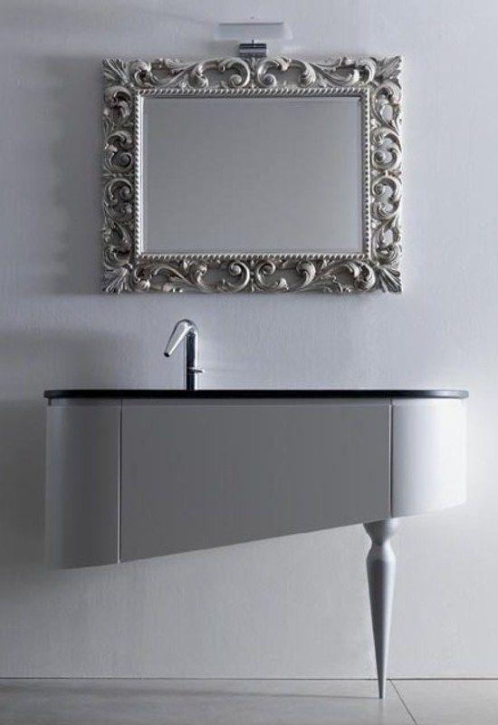 Lavabos modernos y elegantes ba os pinterest for Banos pequenos modernos y elegante