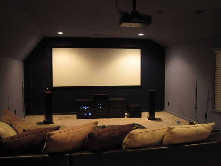 home theater in the attic home theaters media rooms