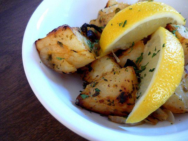 Lemon Roasted Potatoes by Buff Chickpea | Good Eats! | Pinterest