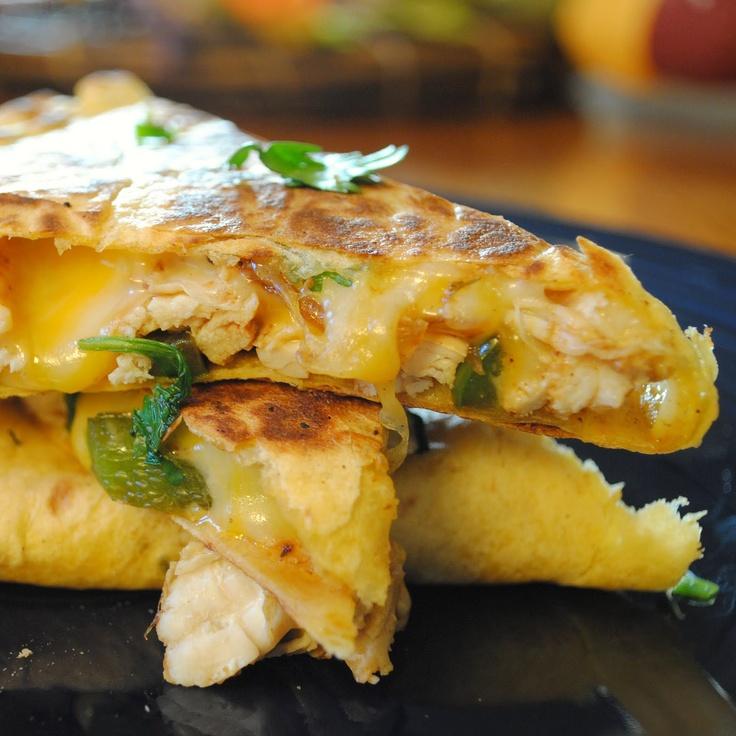 Homemade By Holman...chicken fajita quesadillas   Mexican Dishes ...