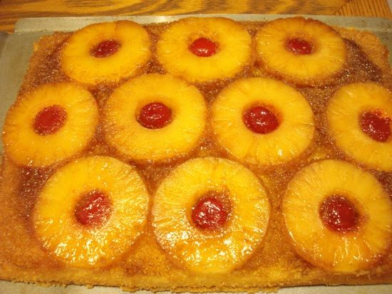 Pineapple Upside Down Cake With Box Mix