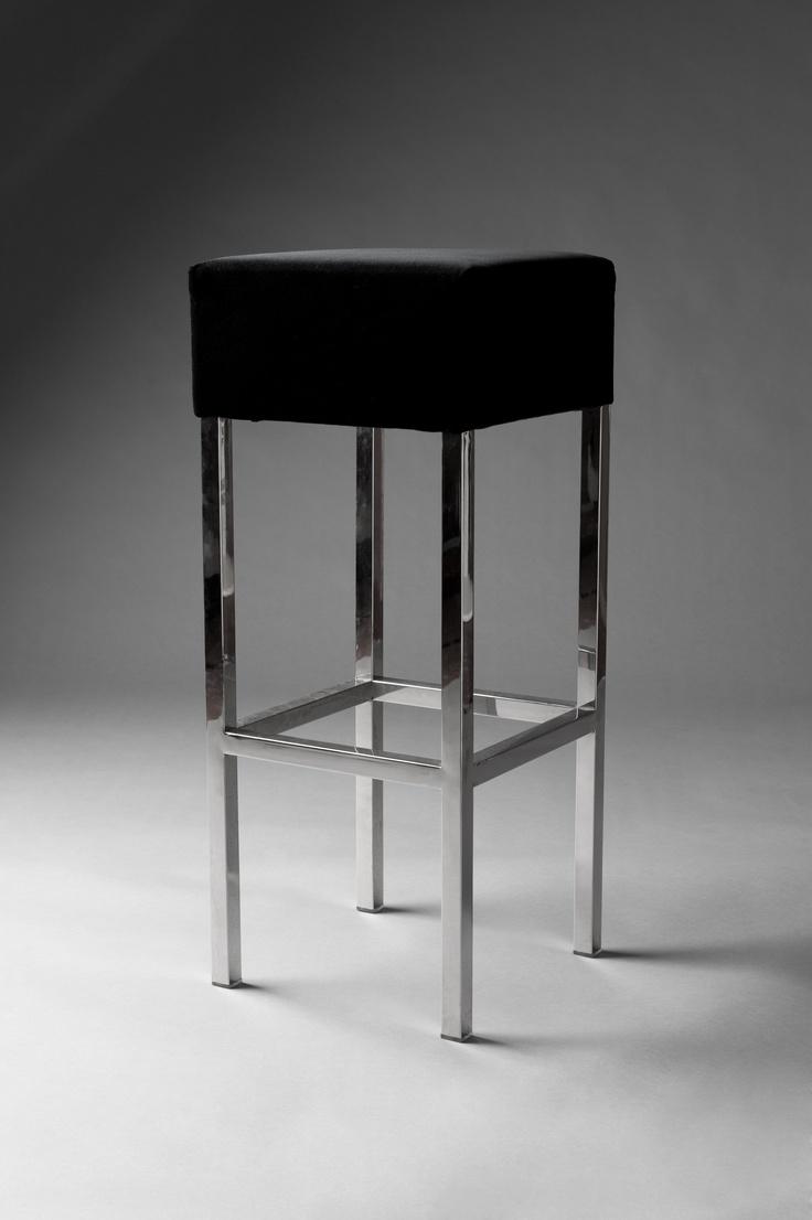 Black velvet bar stool Poseur tables amp bar stools  : 4a35868c6942133529d513ebd0a812c8 from pinterest.com size 736 x 1106 jpeg 117kB