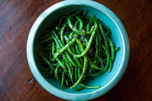 French Green Beans with Butter and Herbs | Recipe