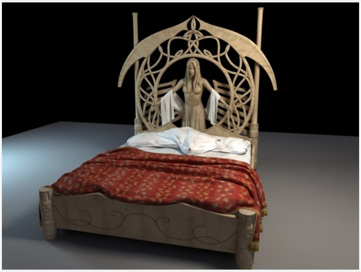 3d lord of the rings rivendel bed images frompo for Lord of the rings bedroom ideas