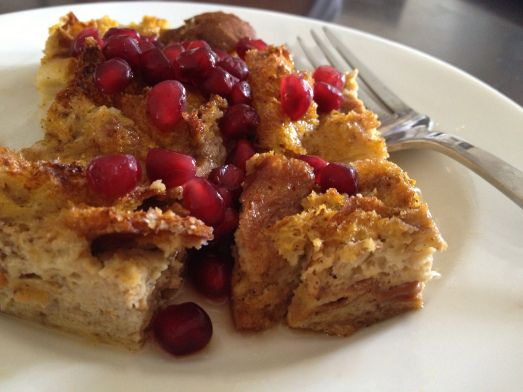 Baked Pumpkin French Toast - She Likes to Eat