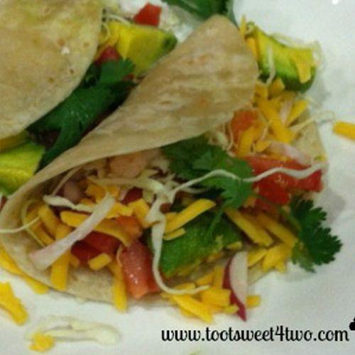 Shrimp Soft Tacos | food | Pinterest