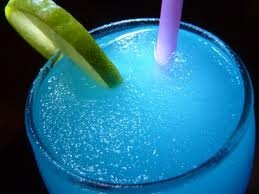 Vodka slushie, made with kool aid good one for the kids