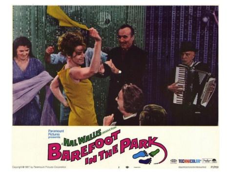 Shama shama el mal kema ma!  Barefoot in the Park, 1967