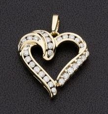 valentine heart gold miner