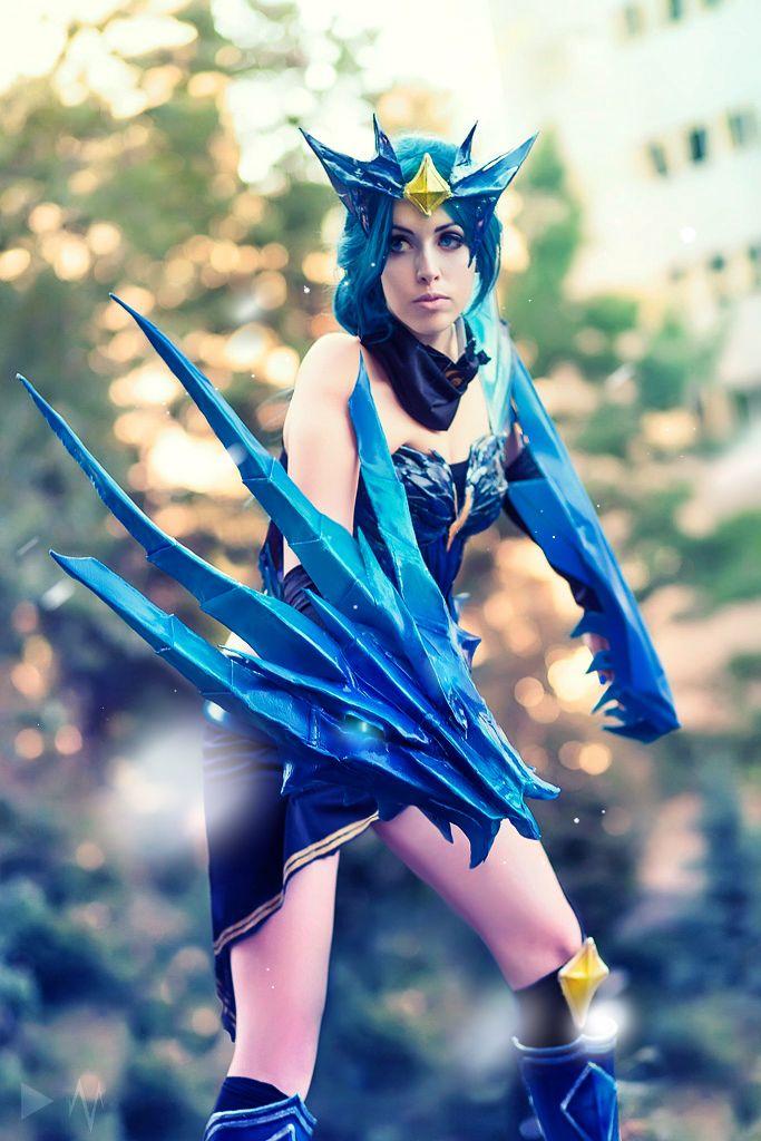 ice drake shyvana cosplay - photo #3