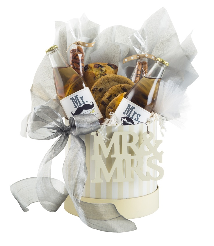 Send A Wedding Gift Basket : Mrs. Wedding Gift Basket. USD39.99 #kneaders Kneaders Gift Baskets ...