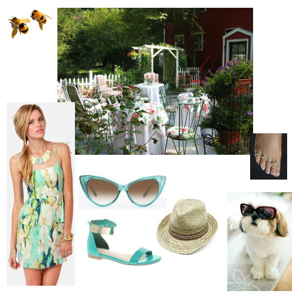 Cute Backyard Party Outfits : the cute #dress from Lulus in Andreas #outfit for the Garden Party