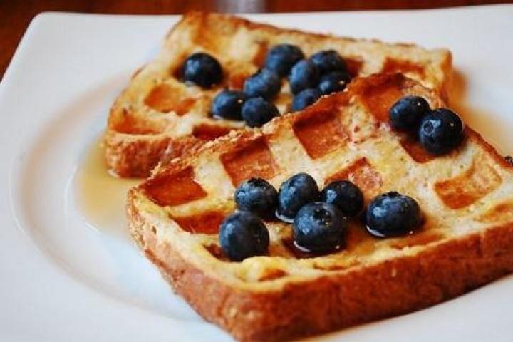 Waffle Iron French Toast Recipe | Mmmmm! | Pinterest