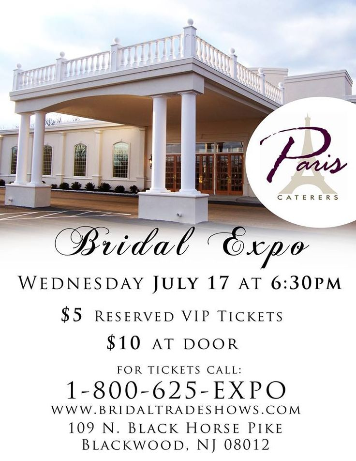 Pin by njwedding com on nj bridal shows amp events pinterest