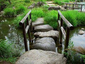 Great bridge/stepping stones
