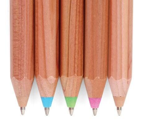 wooden ballpoint pens ++ living royal