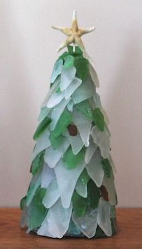 Sea Glass Christmas Tree Crafts Pinterest