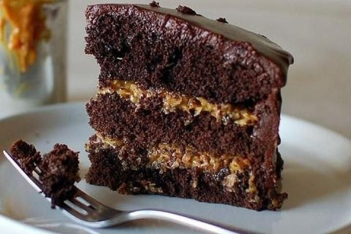 Inside-Out German Chocolate Cake Recipe | Cakes | Pinterest