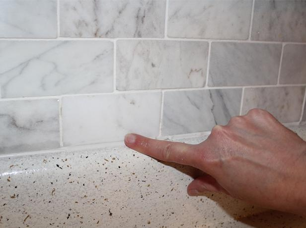 how to install a marble tile backsplash page 06 rooms home
