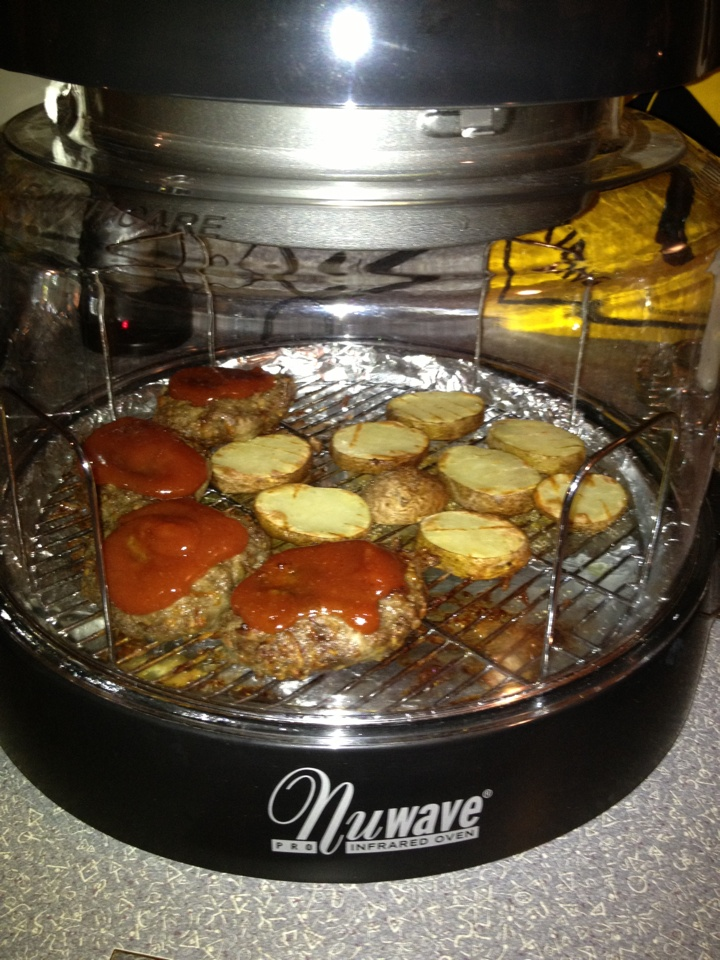 how to cook leg of lamb in nuwave oven