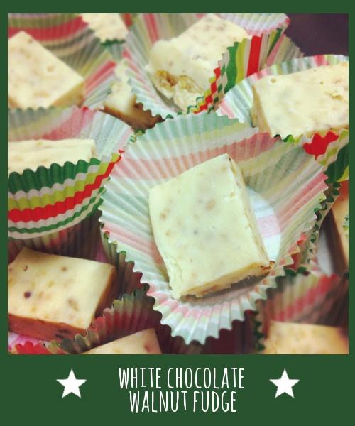white chocolate walnut fudge | Recipes | Pinterest