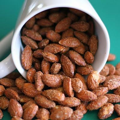 Cinnamon Roasted Almonds | Just Snacks | Pinterest