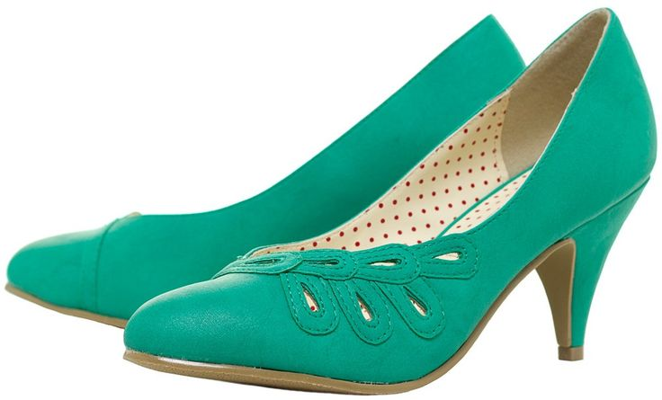 Ready to belong to you 55 00 heels pumps green retro vintage