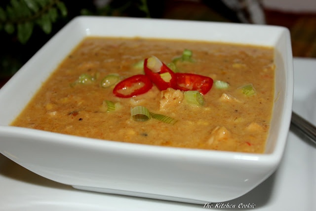Roasted Vegetable and Chicken Chowder | What's for dinner? | Pinterest
