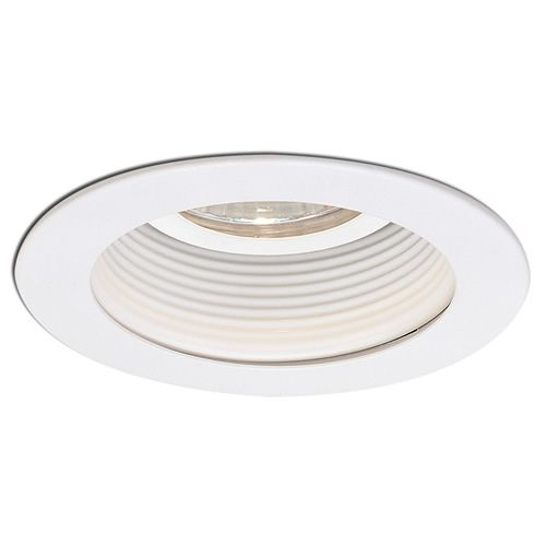 inch low voltage recessed trim with stepped baffle pnl 3310 21