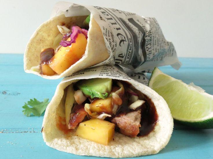 Grilled Pork and Bacon Tacos - A tender, juicy pork tenderloin ...